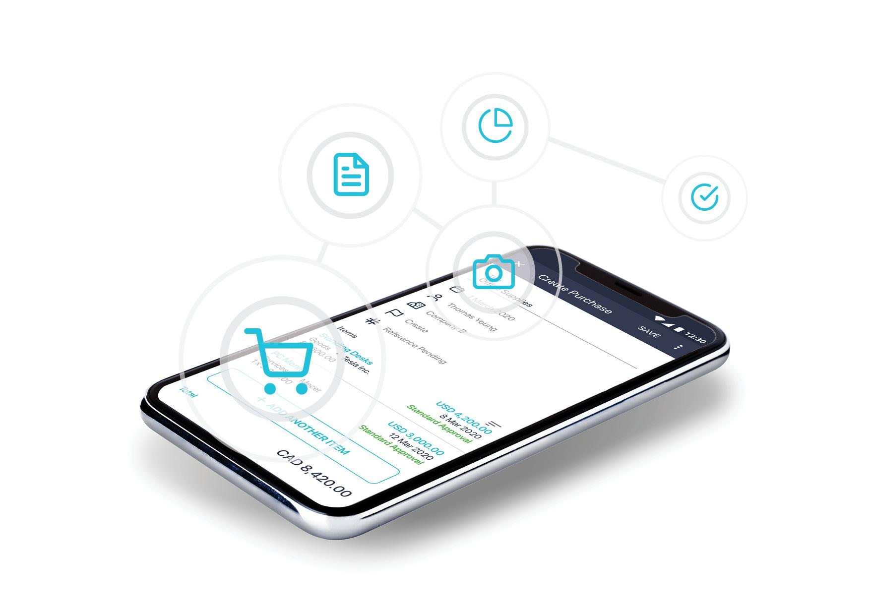 Mobile requisition app