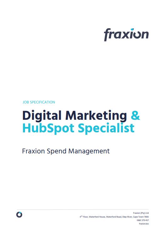 Digital Marketing & HubSpot Specialist
